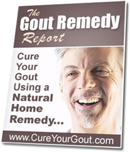 home Remedy and Cure for Gout